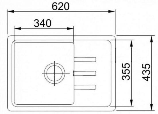 Схема Гранитная мойка Valetti №35