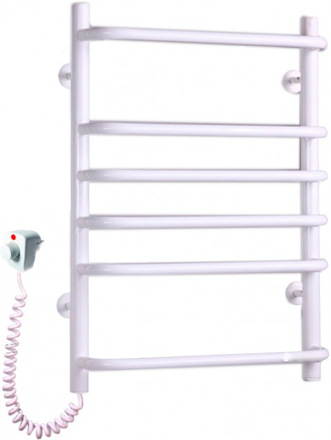 Электрический полотенцесушитель Elna Стандарт-6 640х480 белый л/п