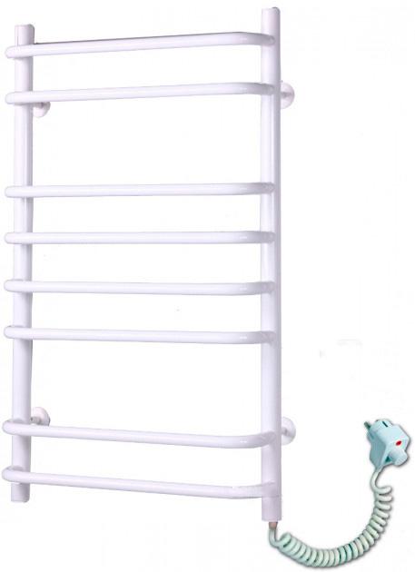 Электрический полотенцесушитель Elna Стандарт-8 800х480 белый п/п
