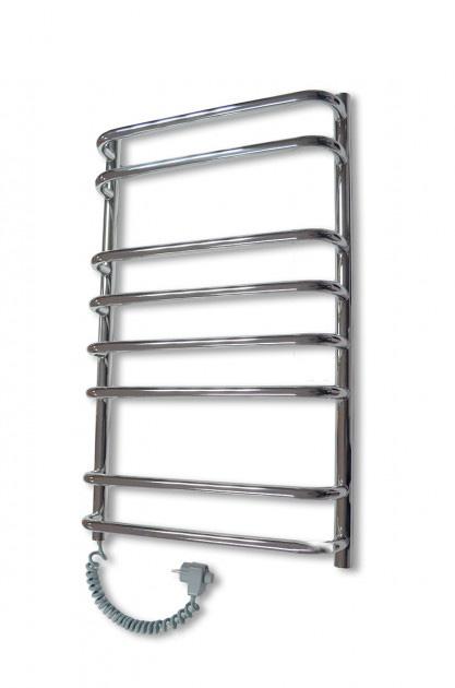 Электрический полотенцесушитель Elna Стандарт-8 800х480 хром л/п