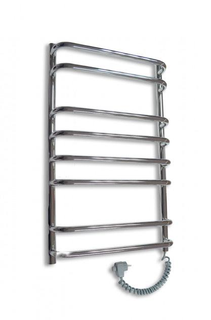 Электрический полотенцесушитель Elna Стандарт-8 800х480 хром п/п