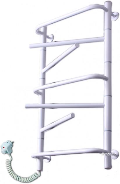 Электрический полотенцесушитель Elna Элна-7 810х430 белый