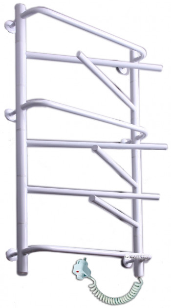 Электрический полотенцесушитель Elna Элна-9 975х530 белый п/п