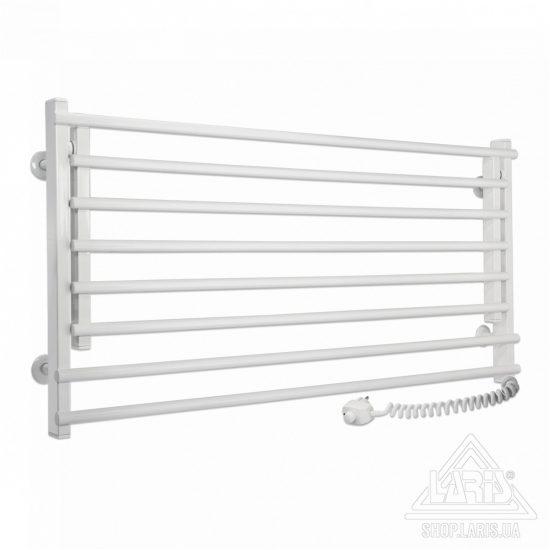 Купить Электрический полотенцесушитель Laris Зебра Астор ЧК8 1000х500 Э (подключение справа)