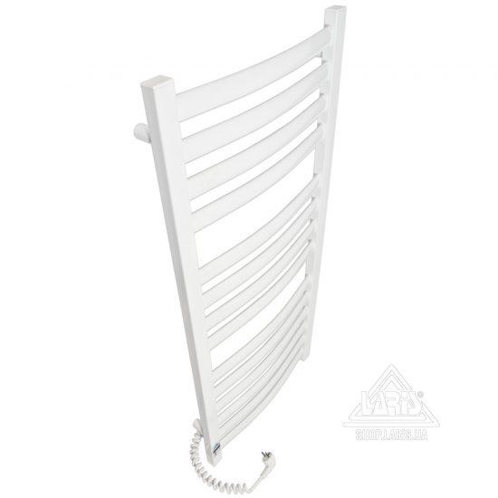 Купить Электрический полотенцесушитель Laris Зебра Атлант Премиум ЧК14 500х1200 Э (подключение слева)