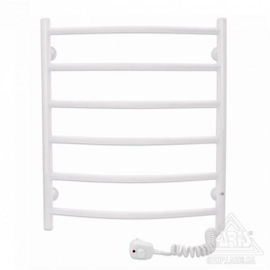 Купить Электрический полотенцесушитель Laris Зебра Классик ЧК6 500х600 Э (подключение справа)