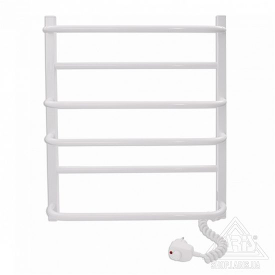 Купить Электрический полотенцесушитель Laris Зебра Комфорт ЧК5 500х600 Э (подключение справа)