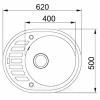 Схема Гранитная мойка Valetti №23 620x500 STD
