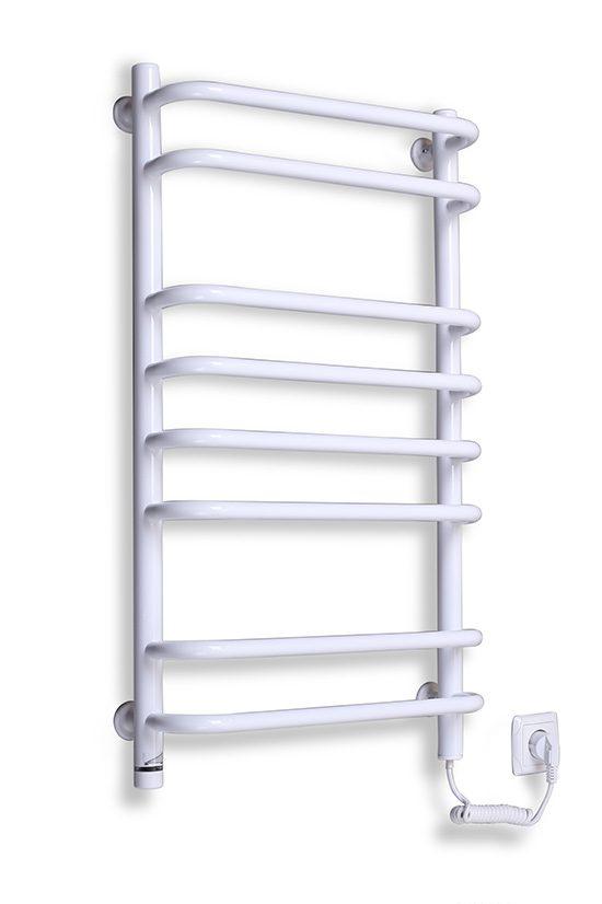 Электрический полотенцесушитель Elna Стандарт-8 820х480 ТР белый
