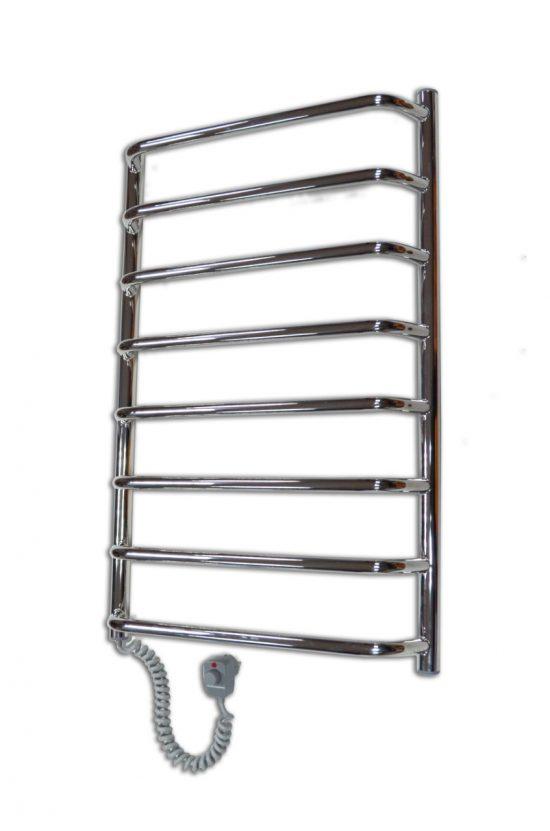 Электрический полотенцесушитель Elna Трапеция 8 830х530 хром л/п
