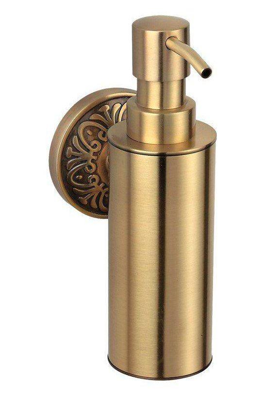 Дозатор для жидкого мыла Милано бронза 9632