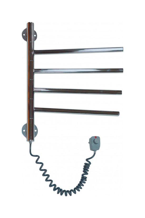 Электрический полотенцесушитель Elna Вертикаль-4 410х400 хром