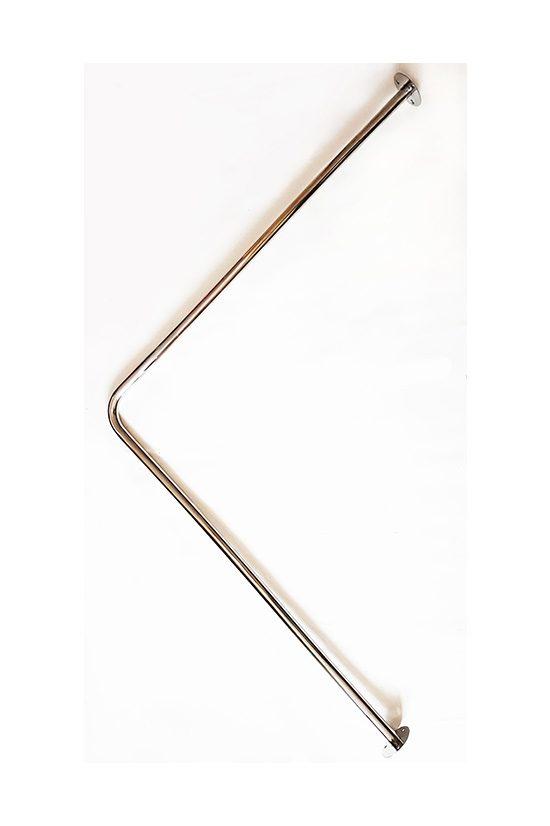 Карниз для ванной угловой Teplo 80x80
