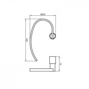Схема Кольцо для полотенец Маттео 8813