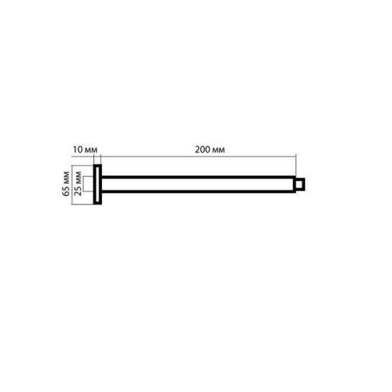 Схема Кронштейн потолочный Rodos 035CP