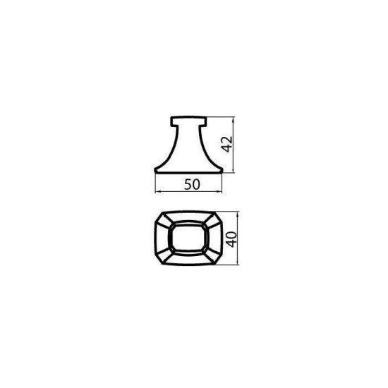 Схема Крючок Бостон (2 шт) 1201