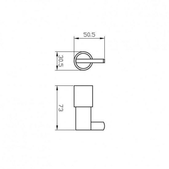 Схема Крючок Маттео 8825