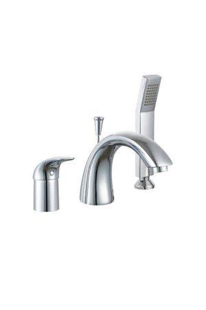 Смеситель для ванны Umbra (врезной, трехсекционный) 95908