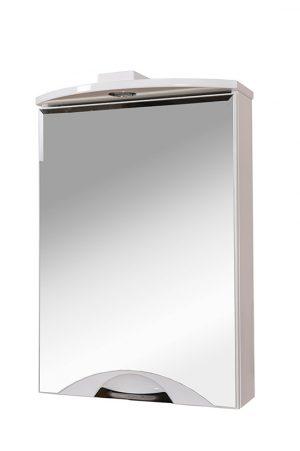 Зеркальный шкаф Глория 55 см R, L с подсветкой
