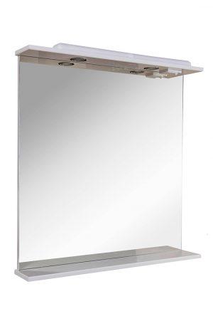 Зеркало Ассоль 80 см с подсветкой