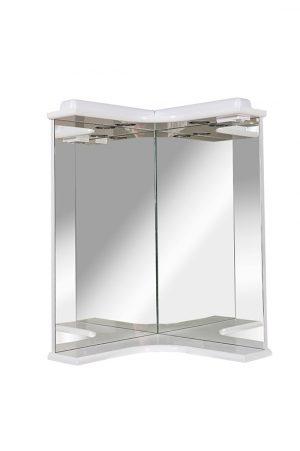 Зеркало Глория Угловое с подсветкой