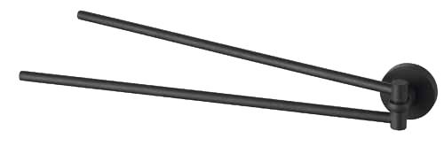 Держатель д/полотенца (рога) Haceka Kosmos Black (402911)