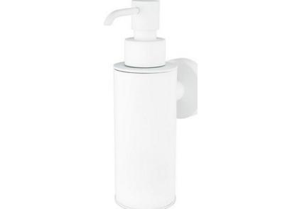 Емкость д/жидкого мыла (металл) Haceka Kosmos White (402817)