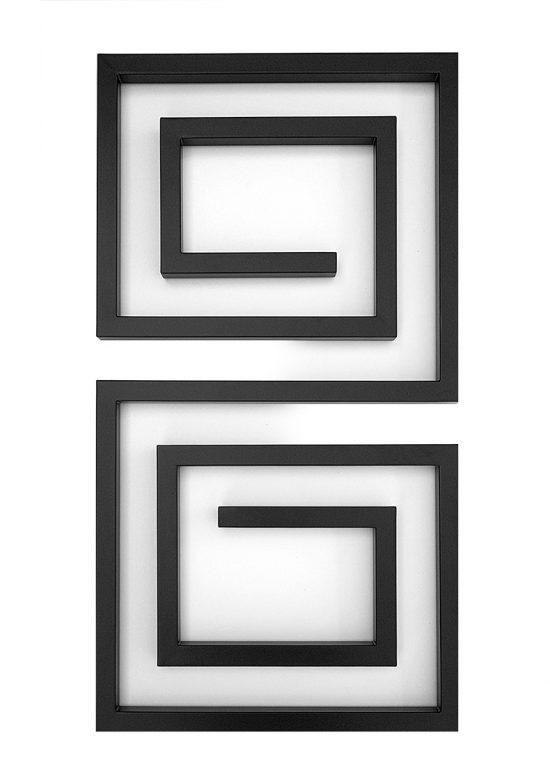 Полотенцесушитель GenesisAqua №008 Labyrinth